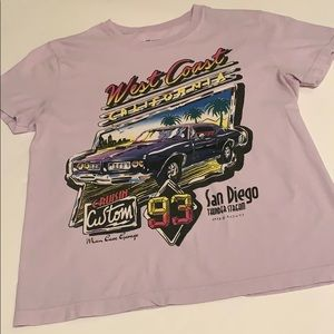 Brandy Melville Marina West Coas Cotton T-Shirt